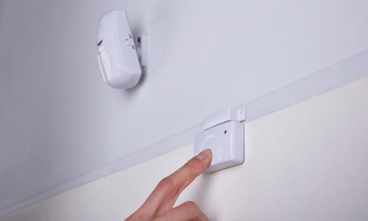 wired door sensor